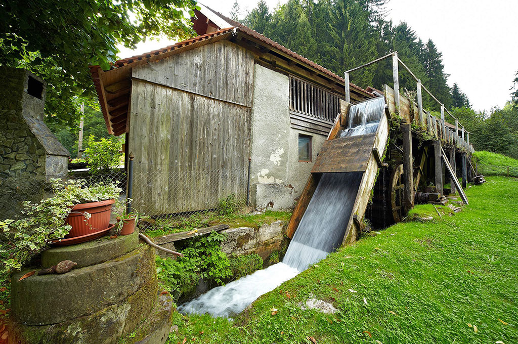 Watermill near Boharina