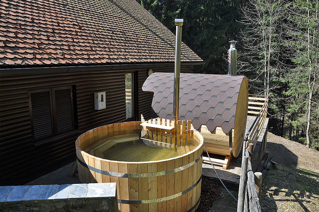 Hot tub and sauna - Spring